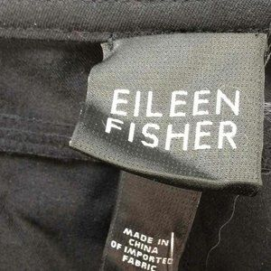new Eileen Fisher Straight Black Pants Large L